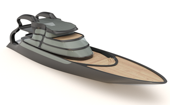 قایق با راینو