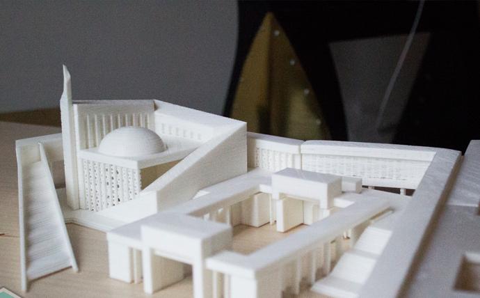 ساخت ماکت معماری