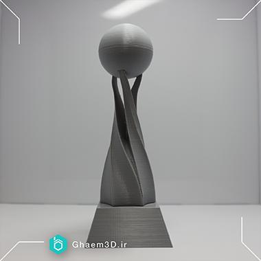 تندیس با پرینتر سه بعدی