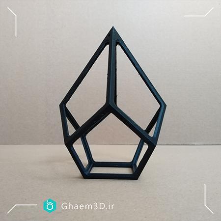 پرینت سه بعدی باکس گل