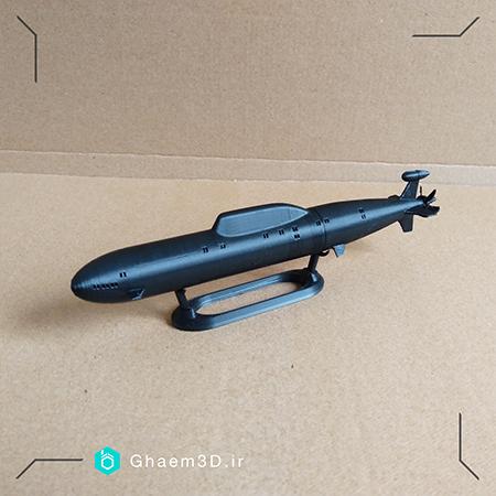 ماکت زیردریایی ساخته شده