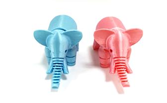 فیل با پرینتر سه بعدی